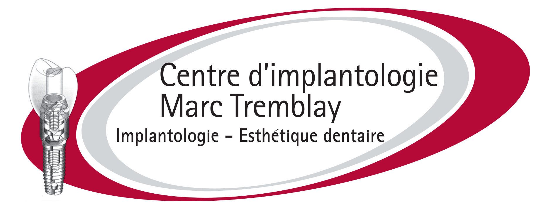 Logo Centre d'implantologie Marc Tremblay