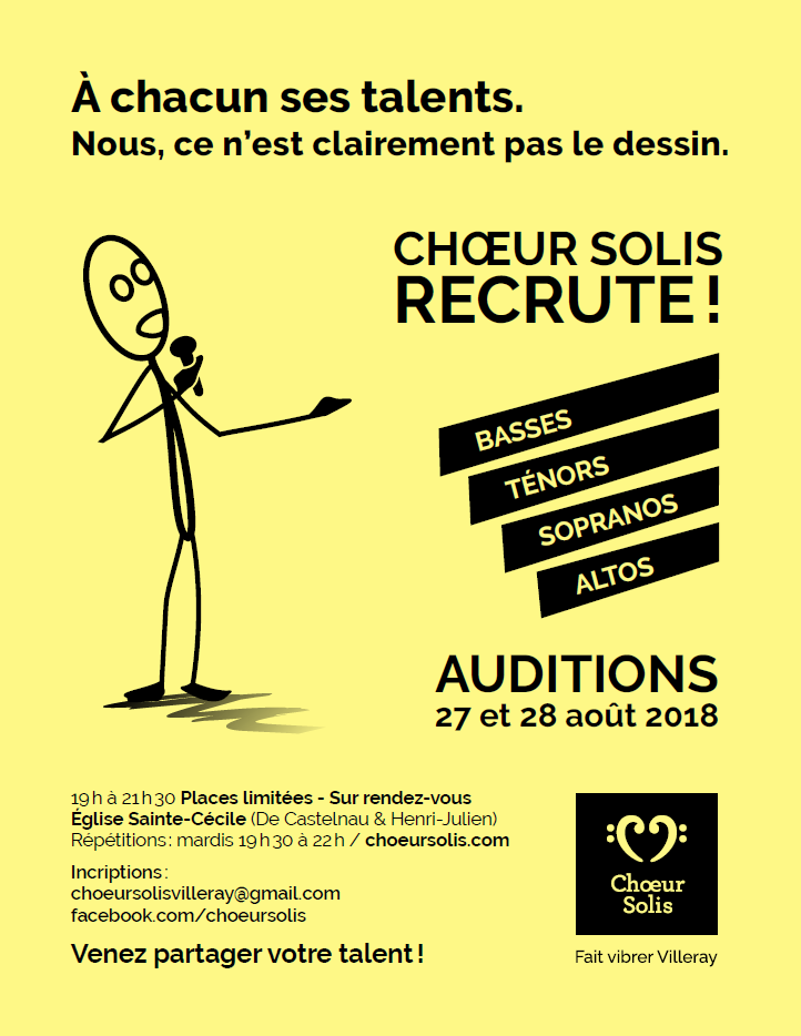 Auditions 2018-2019